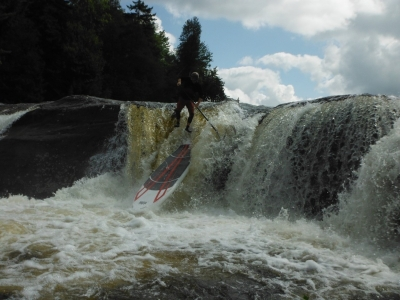 What's SUP on the Eagle River? Moshier Section