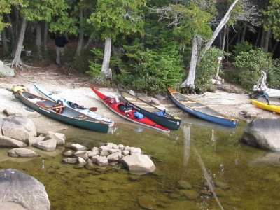 Collection of Canoes