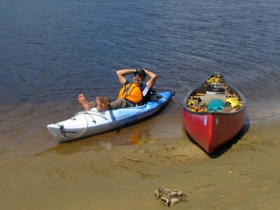 Break Time on the Chochocaune River